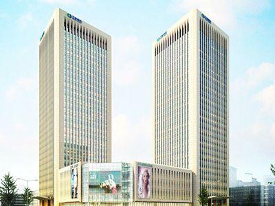 贺我司与陕西正衡置业有限责任公司签项目合同