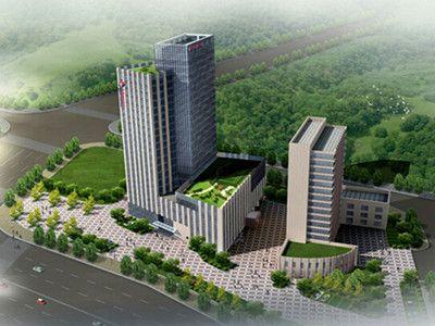 恭贺我公司喜中东方航空城A区项目幕墙工程