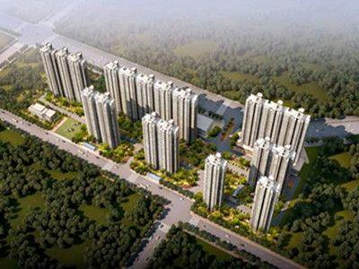 西安曲江建设集团与我公司签订岳家寨安置小区塑钢门窗工程