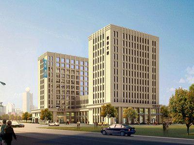 我司与天和佳置业投资有限公司签订天水市天府商务综合楼幕墙工程