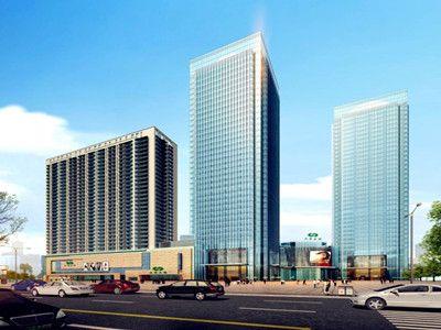 升龙集团与我公司签订郑州市中原区小岗刘5#楼幕墙施工合同